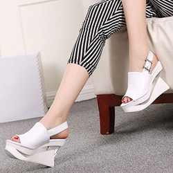 Shoespie Unique Wedge Sandals