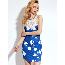 Shoespie Polyester Floral Women's Bodycon Dress