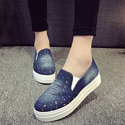 Shoespie Demin Slip On Casuals