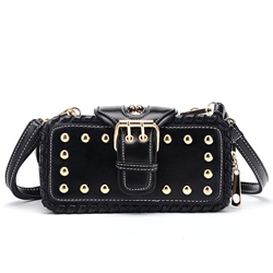 Shoespie Gorgeous Punk Style Buckle Mini Bag