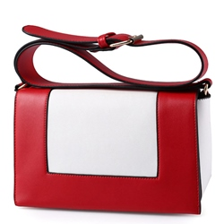 Shoespie Artistic Colorblocked Design Shoulder Bag