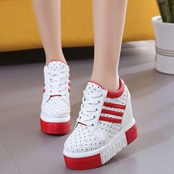 Shoespie Cute Elevated Heel Sneakers