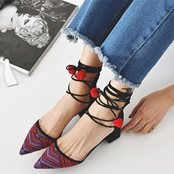 Shoespie Bohemia Lace Up Flats