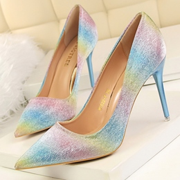 Shoespie Classy Gradually Changing Color Stiletto Heels