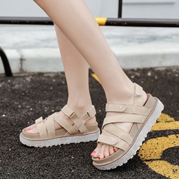 Shoespie Comfortable Strappy Thick Outsole Sandals