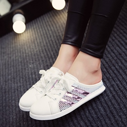 Shoespie Cute Mesh Sneaker Slippers