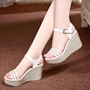Shoespie Cute Platform Wedge Sandals
