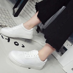 Shoespie Cute Hollow White Sneakers