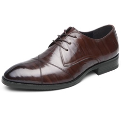 Shoespie Leather Lace-Up Men's Dress Shoes