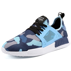 Shoespie Mesh Camo Men's Sneakers