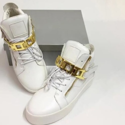 Shoepsie Square Chains Men's Fashion Sneakers