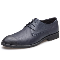 Shoespie British Embossed Leather Men's Dress Shoes