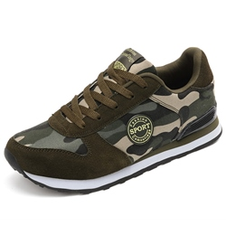 Shoespie Camo Men's Sneakers