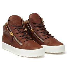 ShoespieCasual Thread Zipper Lace-Up Sneaker