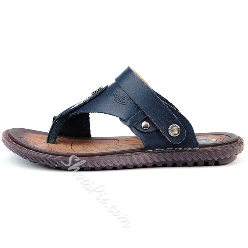 Shoespie Thong Men's Slippers Beach Shoes
