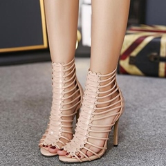 Shoespie Sexy Strappy Caged Stiletto Heel Dress Sandals