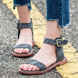 Shoespie Vintage Comfortable Flat Sandals