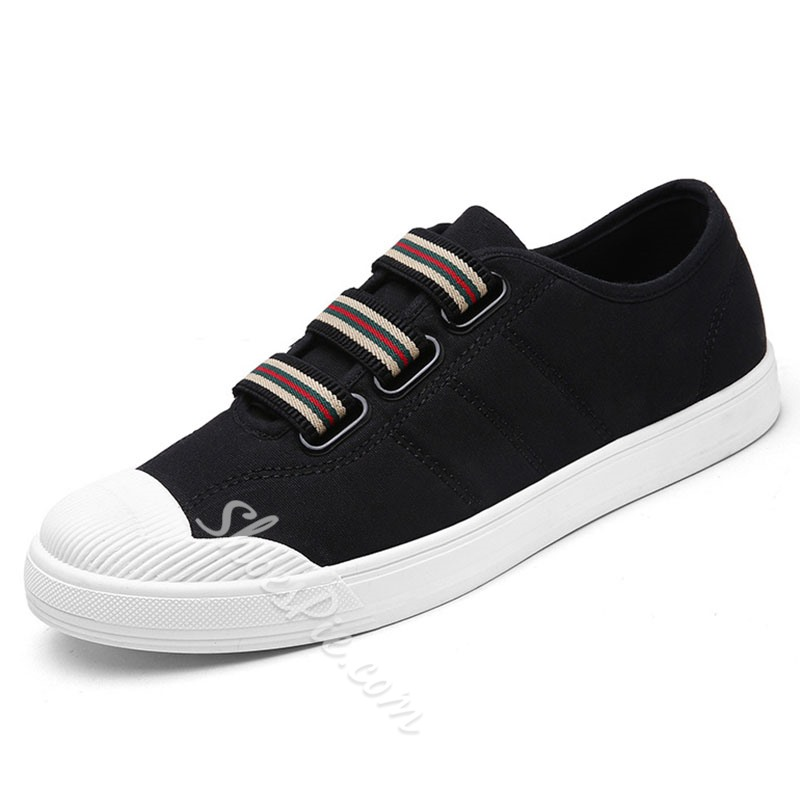 Shoespie Slip On Round Toe Men's Canvas Shoes