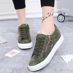 Shoespie Gorgeous Vintage Low-key Luxury Metal Accessories Sneaker