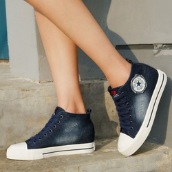 Shoespie Lace Up Denim Shoes