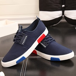 Shoespie Comfortable Lace Up Men's Canvas Shoes