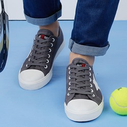 Shoespie Chic Stars Lace Up Canvas Shoes