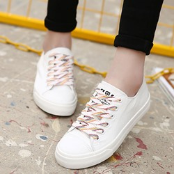 Shoespie Colorful Shoe Lace Canvas Shoes
