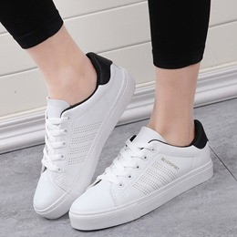 Shoespie Summer Black and White Sneakers