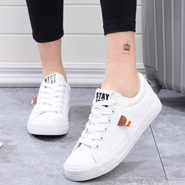 Shoespie Low Upper Lace Up Canvas Shoes