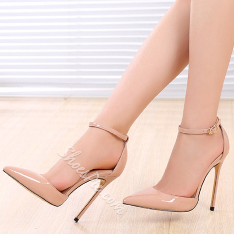 0e816def2f Shoespie Gorgeous Line-Style Pointed Toe Stiletto Heels- Shoespie.com