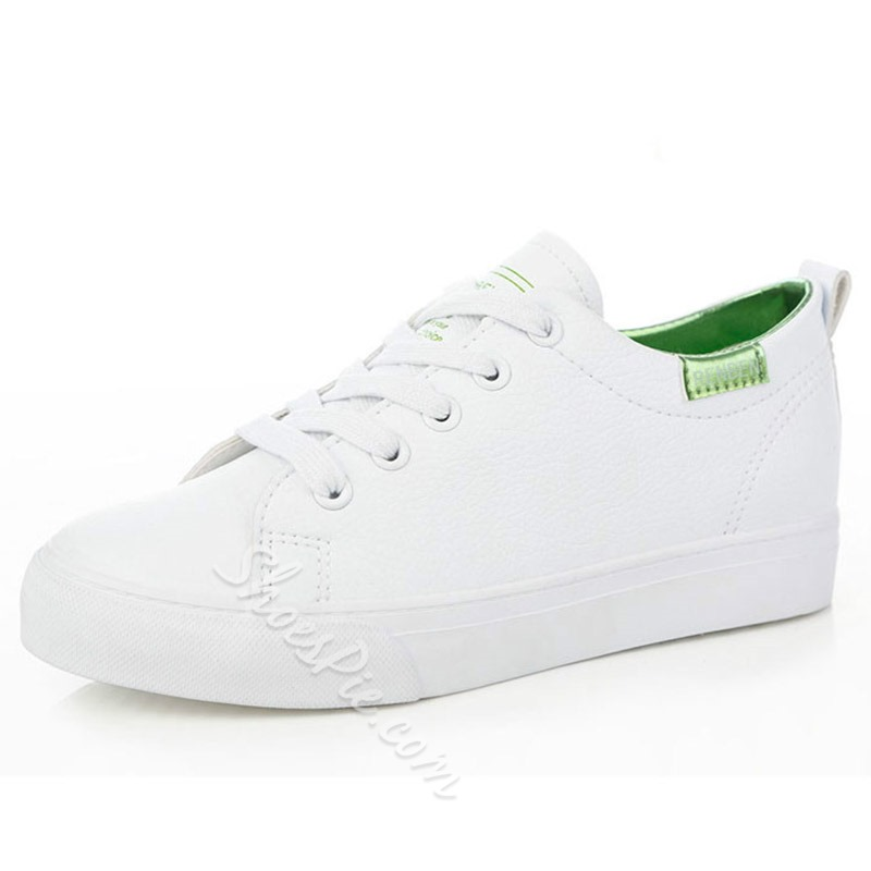 Shoespie Brisk Space Age Solid Color Sneakers