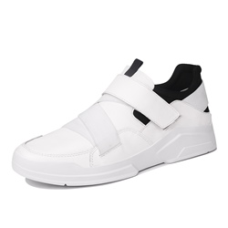 Shoespie Black and White Men's Casuals