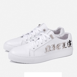 Shoespie Leather DREAM Metal Letters Men's Sneakers