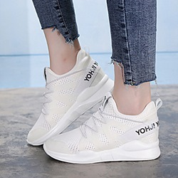 Shoespie Hidden Wedge Breathable Canvas Shoes