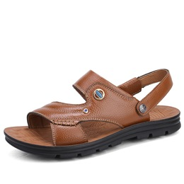 Shoespie Open Toe Adjustable Slingback Men's Sandals