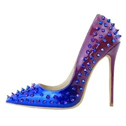 Shoespie Sexy Pointed-toe Rivets Gradual Stiletto Heels