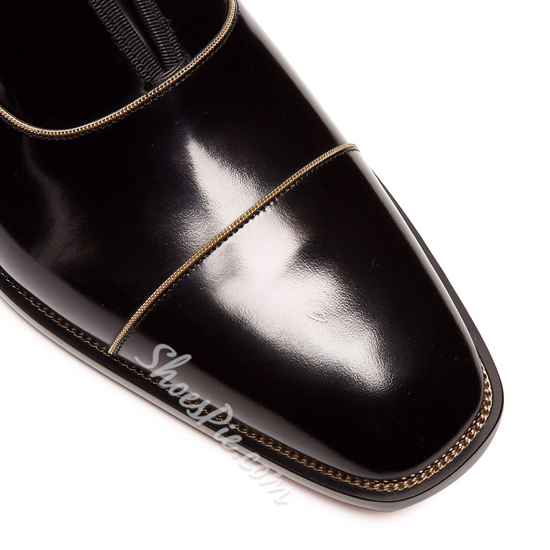 Shoespie Black Liner Men's Dress Shoes