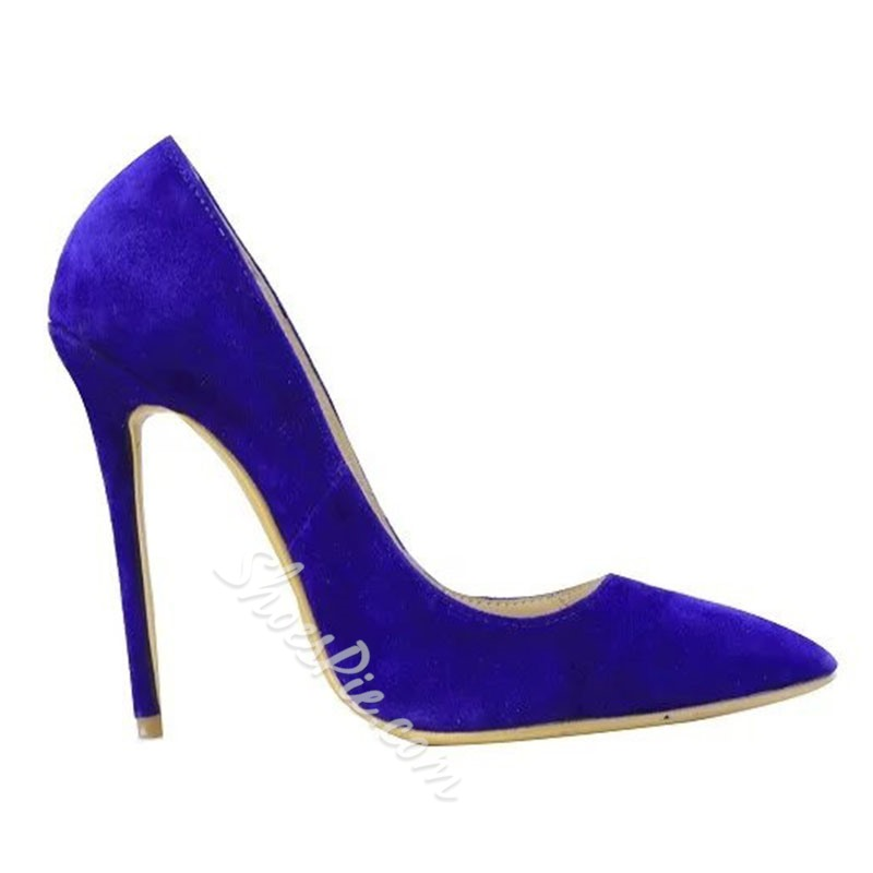 Shoespie Sexy Pointed-toe Shallow Stiletto Heels