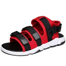 Shoespie Multi Color Velcro Men's Sandals