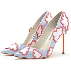 Shoespie Gorgeous Butterfly Stiletto Heels