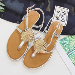 Shoespie Shells Flat Sandals