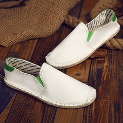 Shoespie Cloth Thread Slip-On Men's Loafers