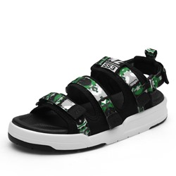 Shoespie Camo Velcro Men's Sandals