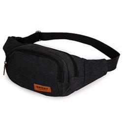 Shoespie Canvas Thread Men's Waist Bags