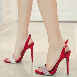 Shoespie Slingbacks Stiletto Heel Dress Sandals