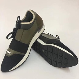 Shoespie Round Toe Lace Up Men's Sneakers