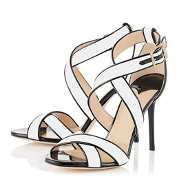 Shoespie Trimed Strappy Heel Sandals