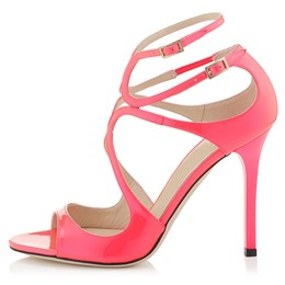 Shoespie Cutout Strappy Dress Sandals