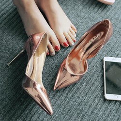 Shoespie Stylish Pointed-toe Shallow Stiletto Heels