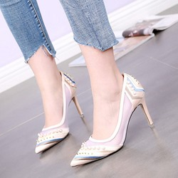 Shoespie Sexy Jacobs Pointed-toe Stiletto Heels